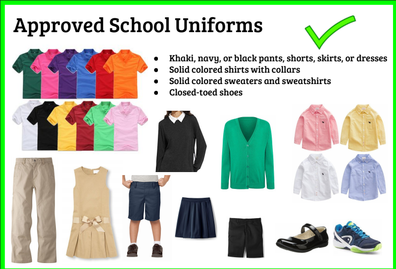 Approved School Uniforms