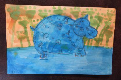 Rachel's Egyptian Hippo