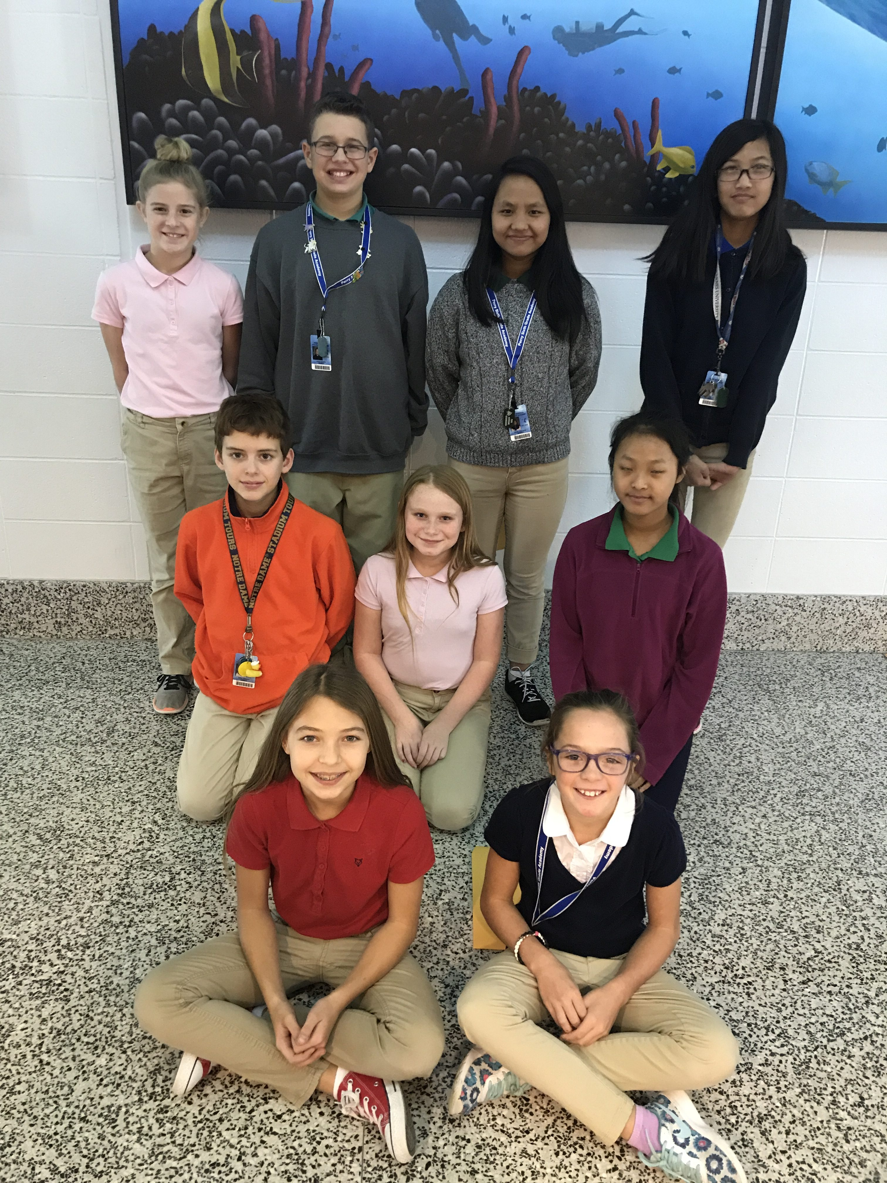 November Students of the Month | Perry Meridian 6th Grade ...