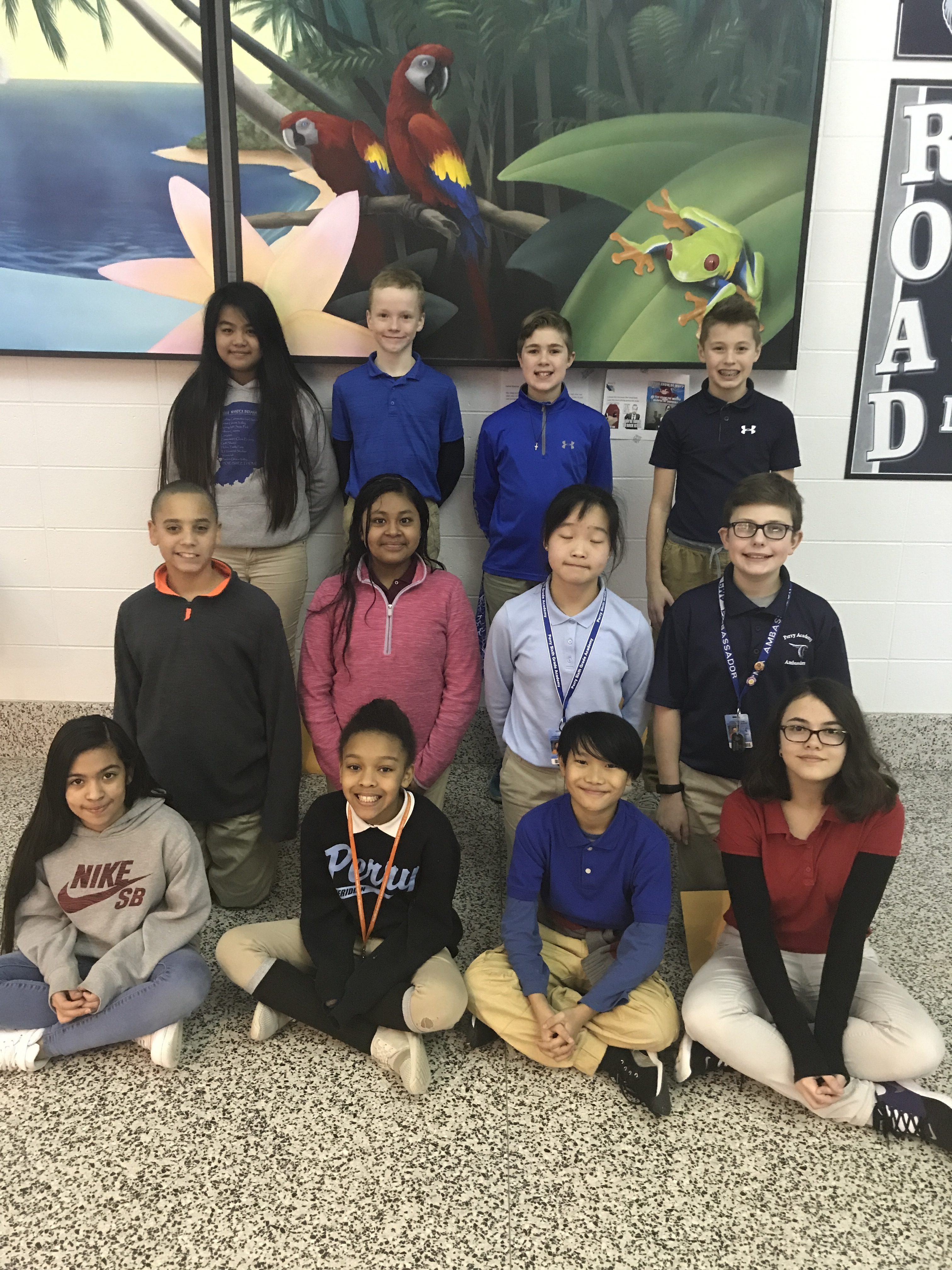 February Students of the Month | Perry Meridian 6th Grade ...
