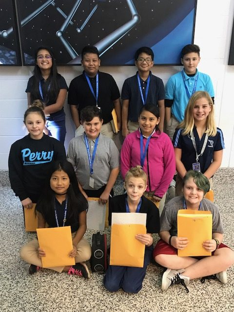 September Students of the Month! | Perry Meridian 6th ...