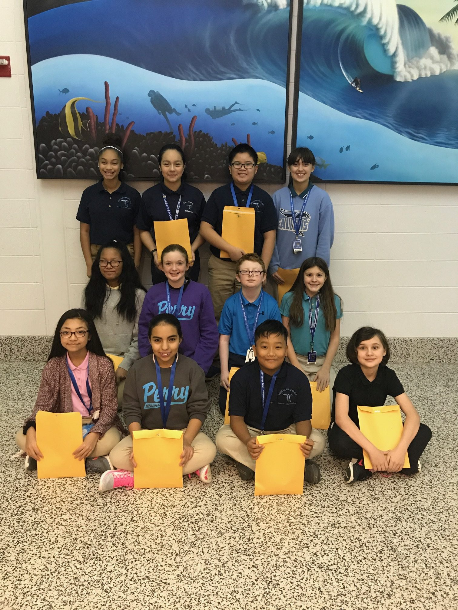 December Students of the Month! | Perry Meridian 6th Grade ...