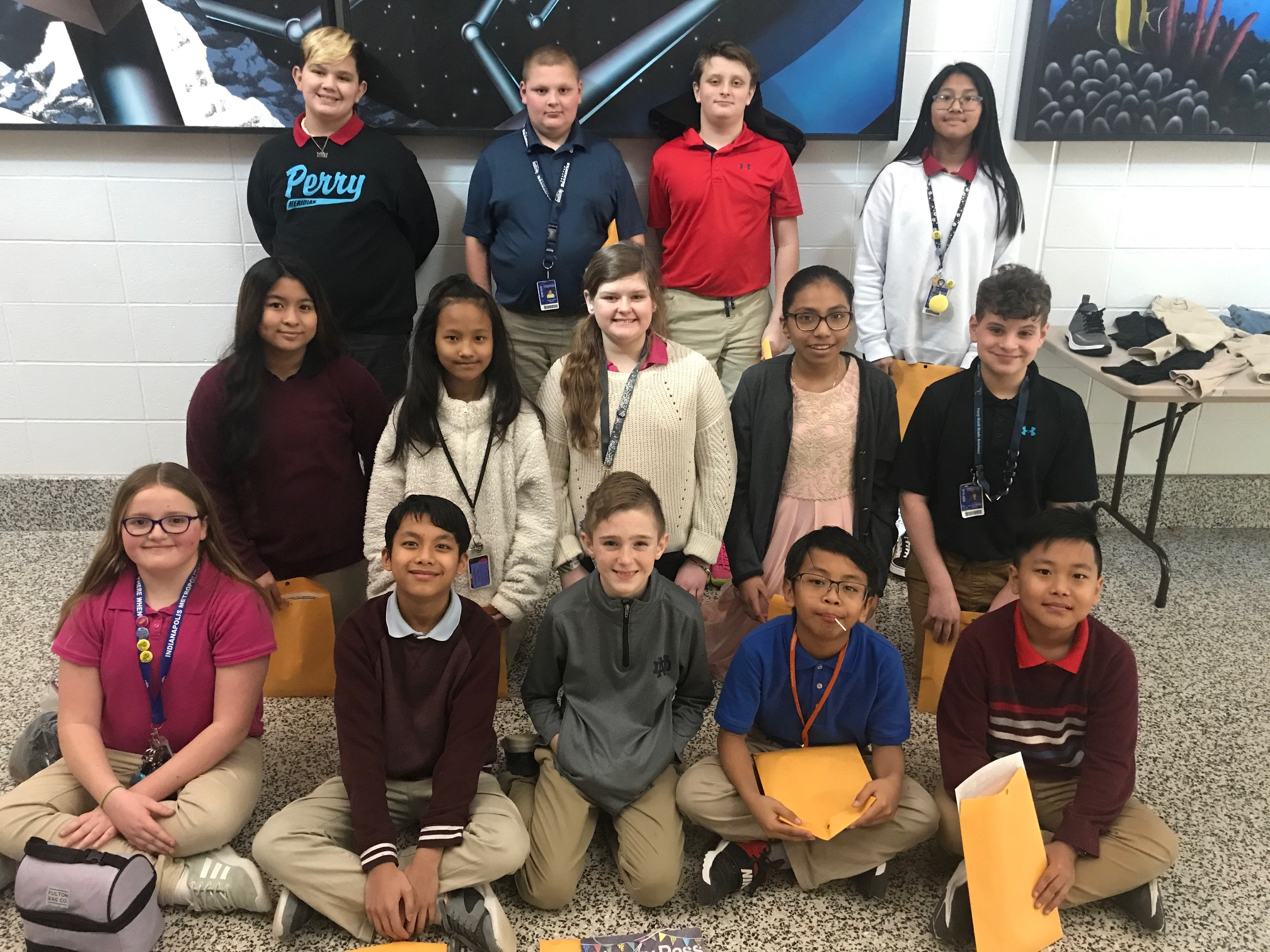 February Students of the Month! | Perry Meridian 6th Grade ...