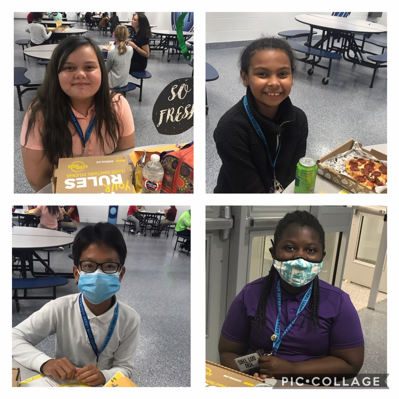Students of the Month for September | Perry Meridian 6th ...