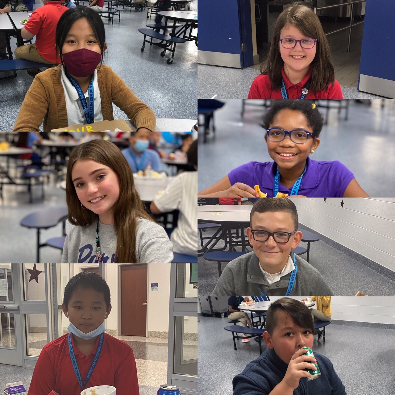 October Students of the Month! | Perry Meridian 6th Grade ...