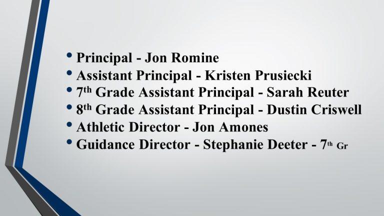Sixth Grade Parent Orientation - Class of 2025 | Perry ...