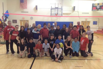 Staff beats 5th grade