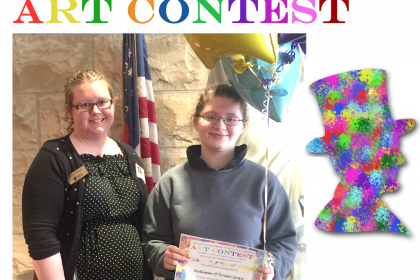 Winner of Lincoln Art Contest