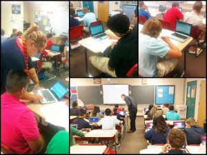 Chromebooks and 8th Grade Students