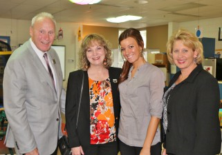 Glenda Ritz Meet Teacher of the Year, Katey Roberts