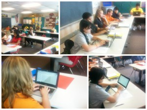 Writing Essays Using Chromebooks at SMS