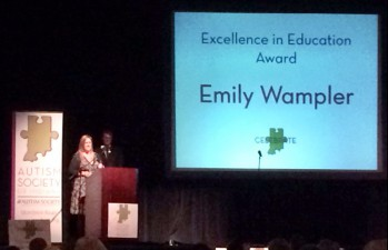 Excellence in Education Award - Mrs. Emily Wampler!