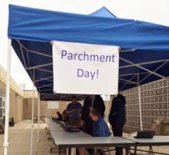 Parchment Day at PMHS
