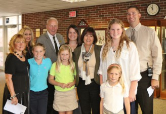 First Lady Mrs. Pence Visits GV