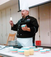 Kids Healthy Food Workshop at JGE with Chef Huckaby