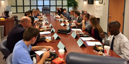 UE Representatives Visit PMHS