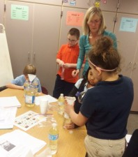 Making Lava Lamps Following the Scientific Method