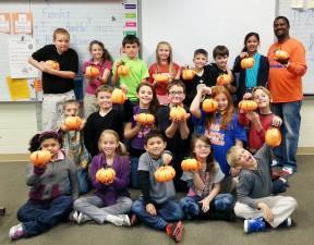 Thankful Pumpkins at JGE