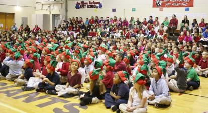 Burkhart's All-School Sing Along