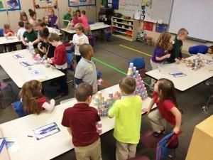 JGE Kindergarten Students Celebrate 100 days of Learning!