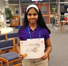 Congratulations to Stuti Mathur!