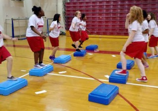 Fitness Stations at SMS
