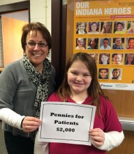 $2,000 Collected at CY for Pennies for Patients