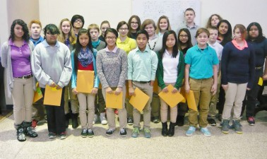 7th Grade PMMS Students of the Month