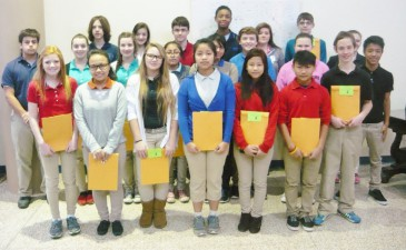8th Grade PMMS Students of the Month