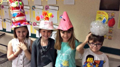 Dr. Seuss Hat Parade at JGE