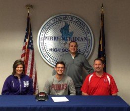 Justin Bowman will Golf at St. Joseph's College