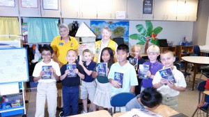 Lions Club Dictionary Donation