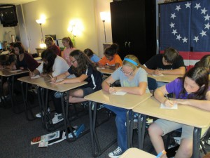 Patriot Day Letter Writing 2015