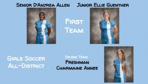 Girls Soccer All-District