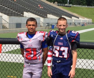 Two PMMS Students selected for USA Football