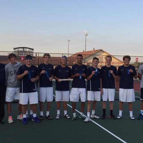 PMHS Boys Tennis Team Wins Regional Tournament