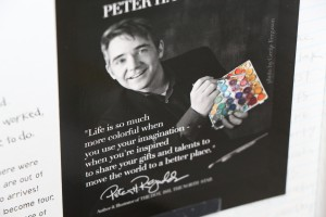 RPE Dot Day Folo Author sends new book 012