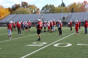 SHS Football Practice for WC Sectional 10-29 004
