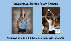 Volleyball Taylor 1000 assists
