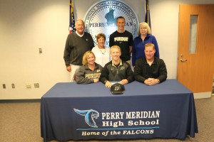 PMHS Child Development -PMHS MGarrity signs with Purdue BB 11-12 020