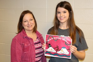 Holiday Card Winner - PMHS student lunch 002