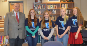 PMHS Students of the Month November 2015