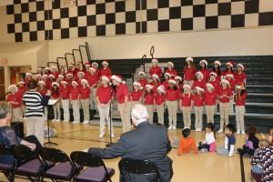 Spotlight Singers perform at PTEC 005