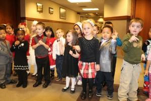 pre school Christmas carrolers 002