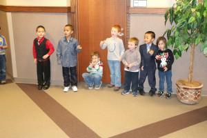 pre school Christmas carrolers 011