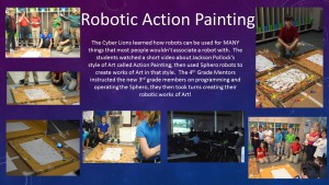Robotic Action Painting