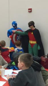 Superheroes CA and Robin