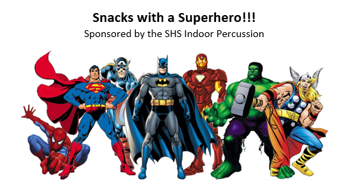 snack with a super hero