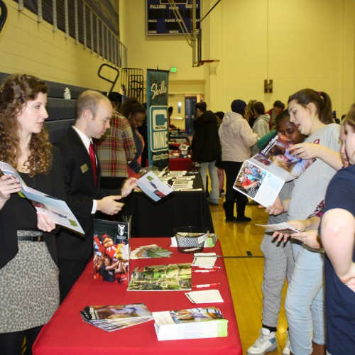 College Night at PMMS a Big Success