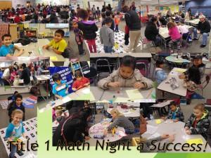 Title 1 Math Night - January 2016